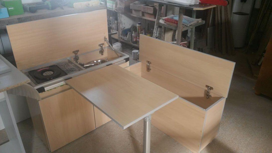 Alex camper muebles para campers carpinter a de madera - Muebles para furgonetas camper ...